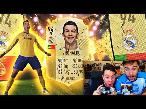 ¡CRISTIANO RONALDO IN A PACK! - TROLEANDO A UN AMIGO EN FIFA 18 - TheGrefg
