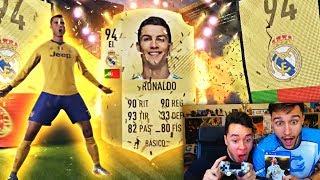 CRISTIANO RONALDO IN A PACK - FIFA 18