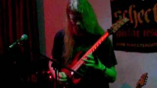 Jeff Loomis - Sacristy, Florence Clinic Oct 14th 2009