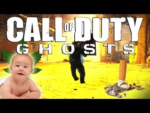 Call of Duty: Ghosts - Seasonal Pads, Young Smokers, and Hawaiian Camos! (Funny Moments)
