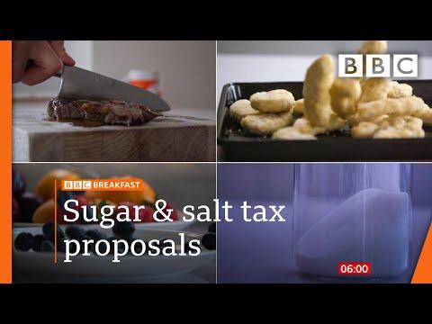 Tax sugar and salt and prescribe veg, report says @BBC News live 🔴 BBC