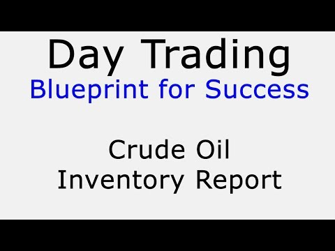Day Trading Blueprint for Success -- Crude Oil Inventory Report