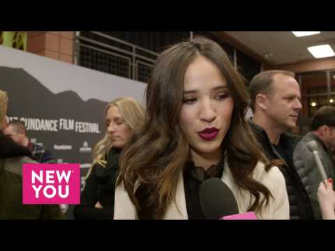 Kelsey Asbille at the 'Wind River' Premiere at Sundance