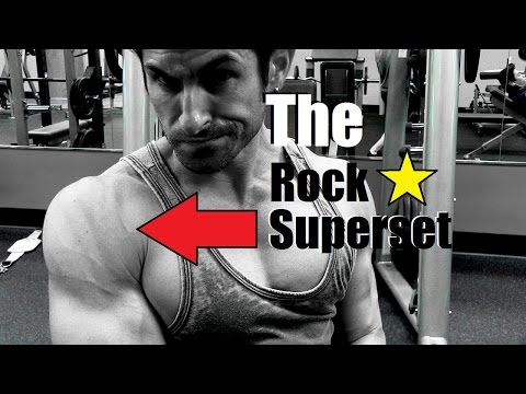 The Rock Star of Shoulder Superset | Awesome Shoulder Workout For Big Delts