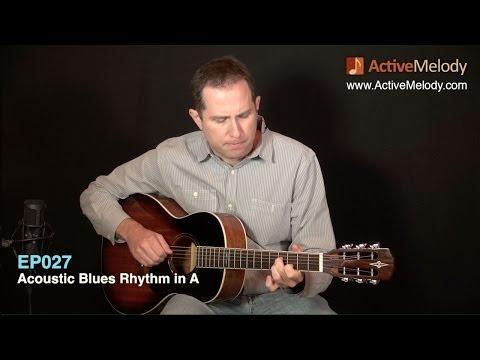 Acoustic Blues Rhythm Guitar Lesson: Fingerstyle - EP027