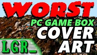 LGR - Worst Classic PC Game Cover Art