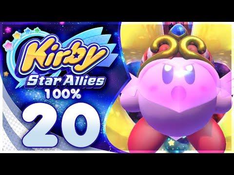 FINAL BOSS + ENDING! Kirby Star Allies - 100% Walkthrough | Part 20!
