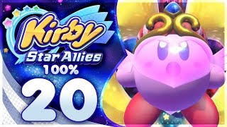 FINAL BOSS + ENDING! Kirby Star Allies - 100% Walkthrough | Part 20!