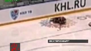 Хоккеисту перерезали горло каньком