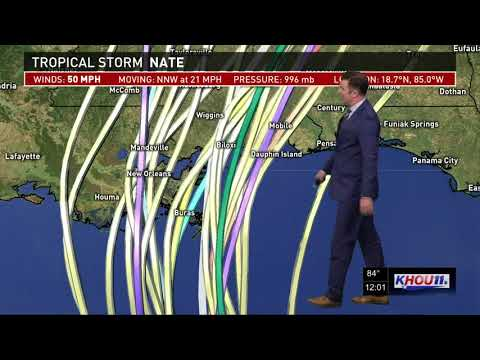 Tropical Storm Nate update - 12 p.m. Friday, Oct. 6, 2017