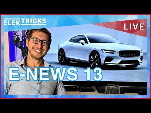 E-News #13 Volvo E-Offensive, Verbrenner Verbote, EU Batterie Allianz, Hyundai Kona, DB Ridesharing