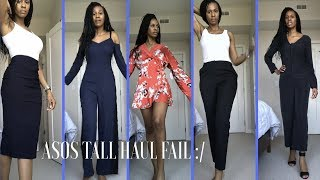 ASOS Tall Haul Fail! Not all Asos Clothing Are Created Equally!