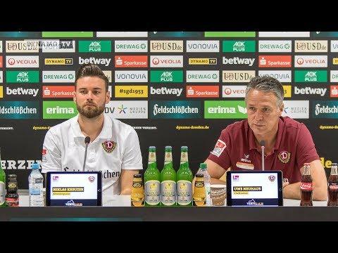 11. Spieltag | FCN - SGD | Pressekonferenz vor dem Spiel