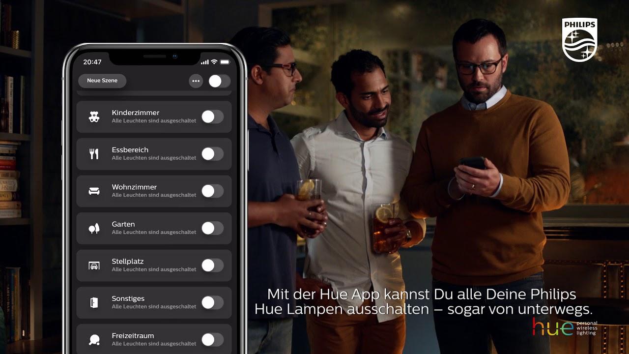 Philips Licht Hue : Philips hue steuere dein licht von unterwegs philips hue app