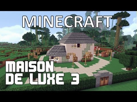 minecraft maison de luxe 3 youtube. Black Bedroom Furniture Sets. Home Design Ideas
