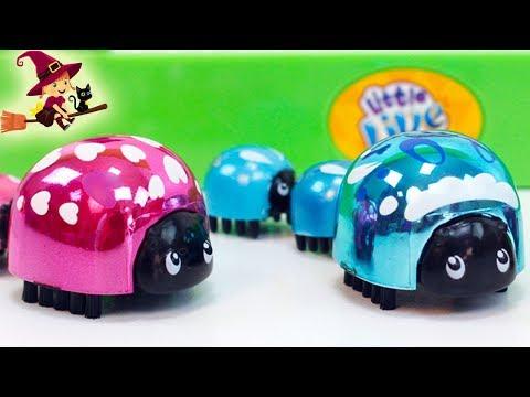 Adorables Mariquitas de Little Live Pets Juguetes Interactivos