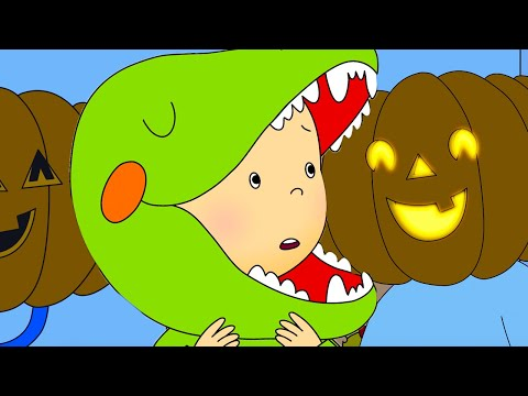 Funny Animated Cartoons Kids 🎃 Caillou's Halloween Costume 👻 WATCH ONLINE | Cartoons For Children