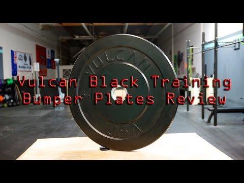 Vulcan strength bumper plate review best bumper plates youtube