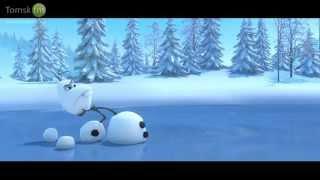 Снеговик, лось и морковка