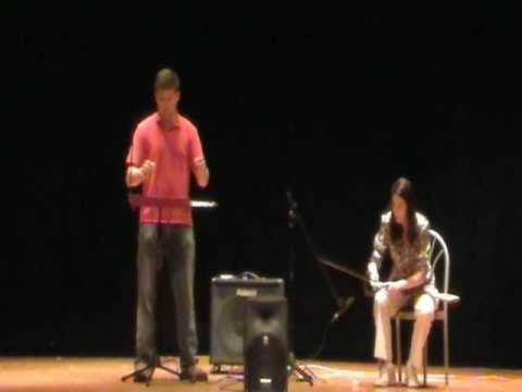 Saw/Theremin Duet Art & Music Day