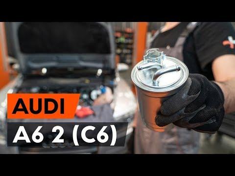 Jak Vyměnit Palivový Filtr Na AUDI A6 (C6) [NÁVOD AUTODOC]