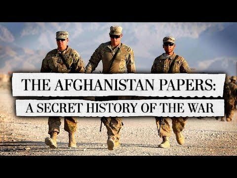 """Afghanistan Papers Reveal The U.S. """"War On Terror"""" Was Doomed From The Start"""
