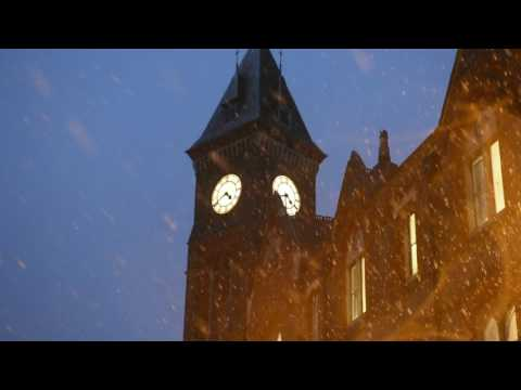 Snowing in Newbury