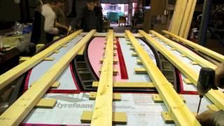 Custom Concrete Boardroom Table, Ductal Boardroom Table, Victoria, Bc