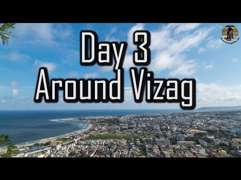 The Coastal Bliss | Day 3 - Vizag City Tour | Tourist Places - RK Beach Road, Submarine, Vuda Park