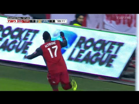 Champions League Match Highlights: Tigres UANL at Toronto FC (Leg 1)