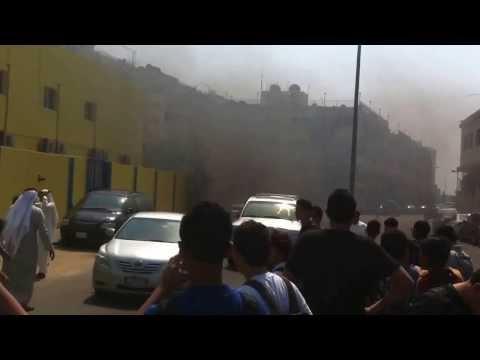 Global International School on fire