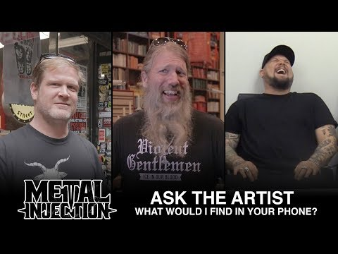 ASK THE ARTIST: What Would I Find In Their Google Searches? | Metal Injection