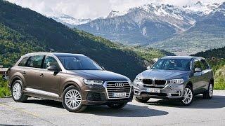 Duell der Luxus-SUV: Audi Q7 vs. BMW X5 (2015)