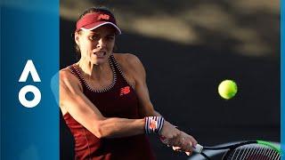 Nicole Gibbs v Viktor Tomova match highlights (1R) | Australian Open 2018
