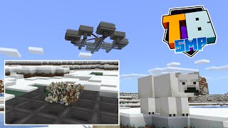 The Wonderful World Of Polar Bears! Passive Mob Farm And Storage Issues! - Truly Bedrock - S02 EP08