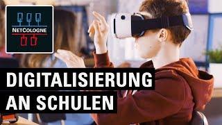 Digitalisierung an Schulen: Unterricht der Zukunft mit NetCologne Schulsupport
