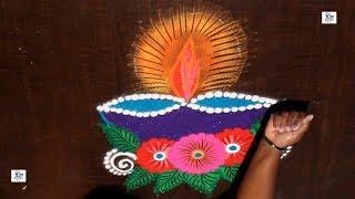 Diwali Special Kolam || maitrin 2018