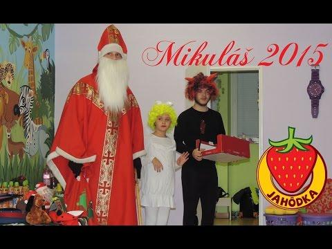 Mikuláš odmeňoval poslušné detičky z našej škôlky