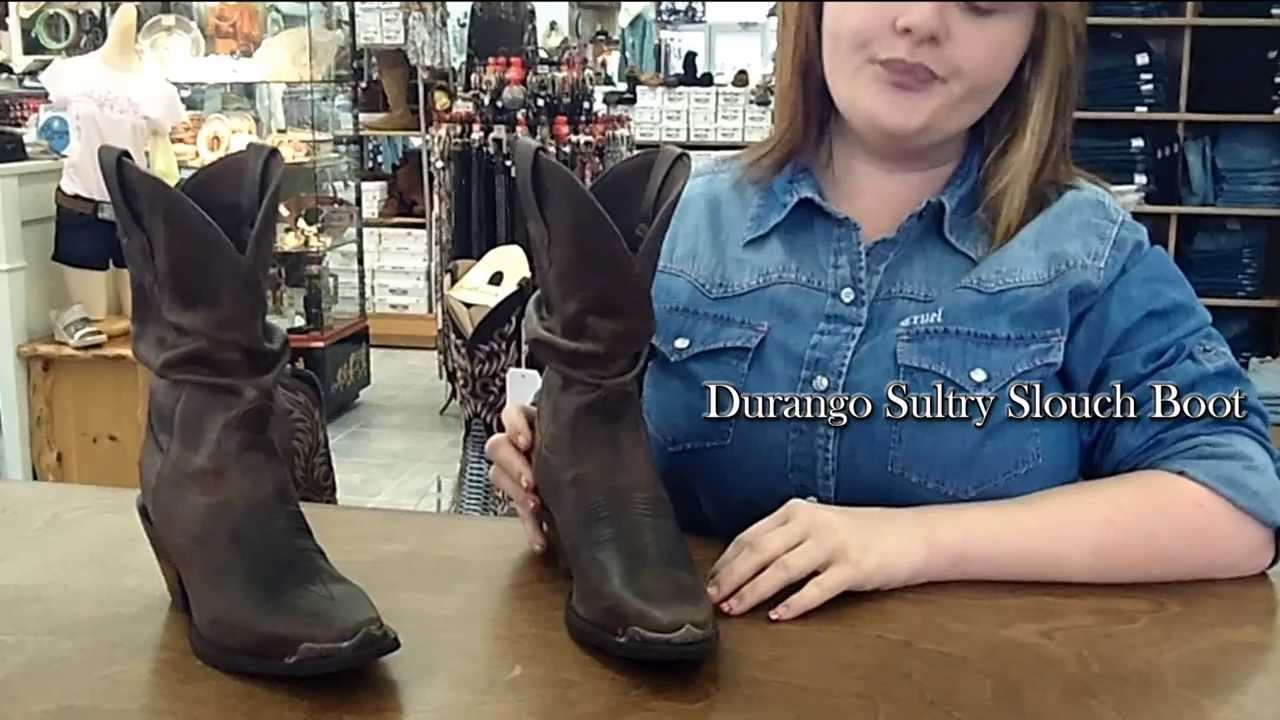 3abc66f6869 Durango Sultry Slouch Boot - JC Western Wear