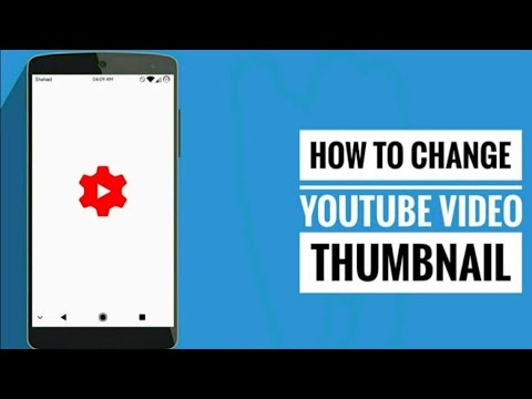 how to make youtube video thumbnail and set