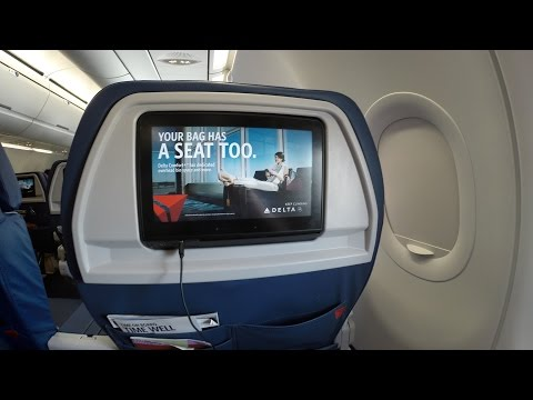 Delta Airlines A321 First Class MCO to ATL
