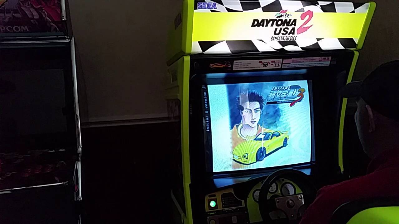 Initial D 3 on Demul emulator + emulated card reader - YouTube
