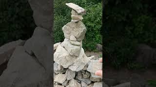 영천보현산 천문대에서 본 정경~돌탑마무리/미리암티브이2…