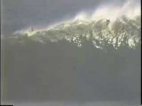 Jay Moriarity Wipeout at Mavericks 1994