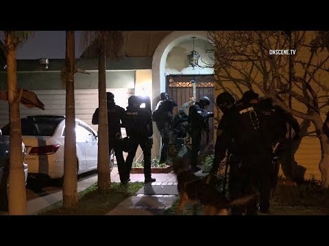 Dozens Detained By SWAT During Search Warrant Execution In Westminster