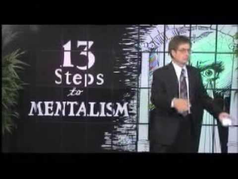 13 Steps To Mentalism by Richard Osterlind
