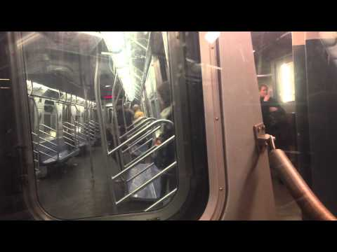 Funny Reactions to smelly bum in NYC Subway