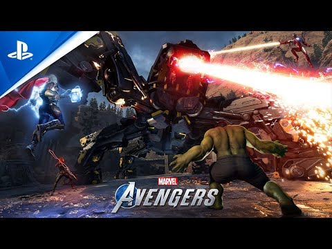 Marvel's Avengers - Co-op War Zones Trailer | PS4