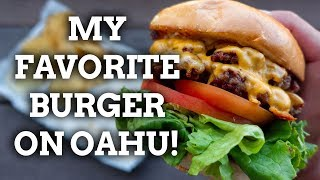 My FAVORITE Cheeseburger on Oahu - The Butcher and Bird