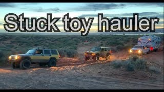 *STUCK Toy Hauler*